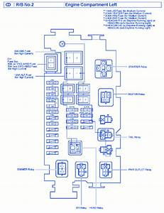 Toyota Tacoma 2010 Main Fuse Box  Block Circuit Breaker Diagram  U00bb Carfusebox