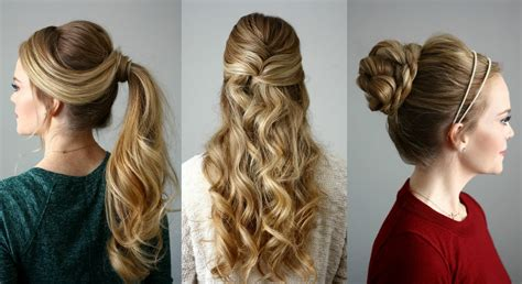 holiday hairstyles missy sue youtube