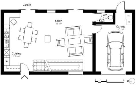 plan maison à étage avec garage ooreka