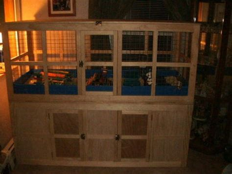build   rat cage heres  large wooden guinea pig