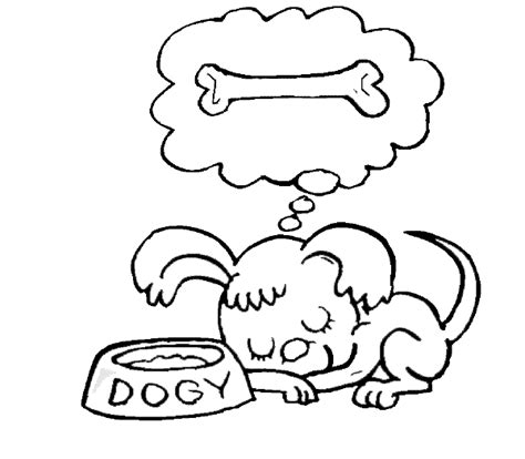 dog coloring pages find   dogs dream
