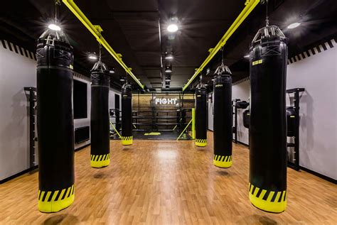 Gym Interior :  Soesthetic Group Creates High-impact Gym In