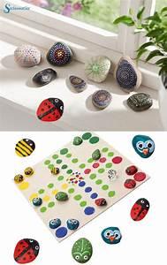 Basteln Mit Steinen : pin von die sachenmacher auf home decoration basteln ~ Watch28wear.com Haus und Dekorationen