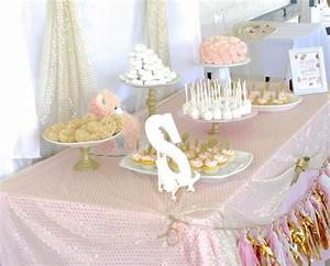 Pink and Gold Baby Shower - Sincerely Jean
