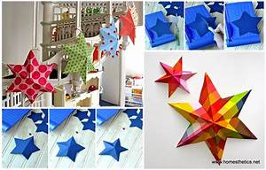 Diy paper art projects learn how to make d stars