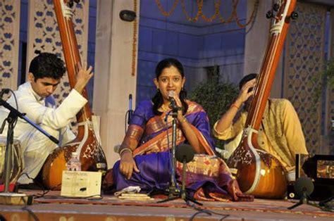 Manjiri Asnare Kelkar Performing At Indian Classical Music
