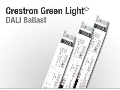 Crestron Green Light Dali Ballasts