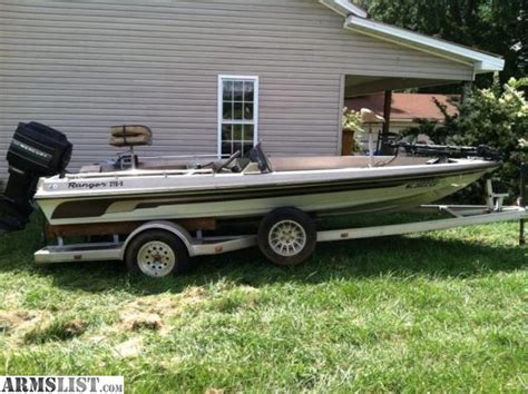 Used Ranger Boat Trailers For Sale by Armslist For Sale 1984 17ft Ranger Bass Boat W Trailer