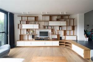 jo a blog grande bibliotheque sur mesure With photo de meuble de cuisine 5 stephane millet dans la maison france 5