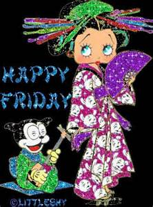 Betty Boop Happy Friday