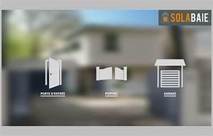 Configurateur solabaie porte d39entree porte de garage for Configurateur de porte d entrée