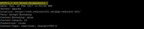 Php Redirect 301 Permanente Weiterleitung Mit Php