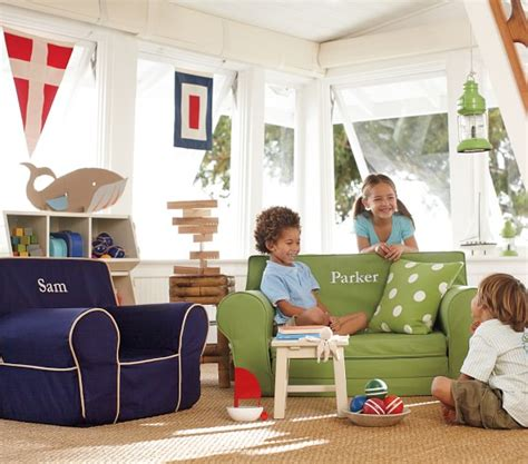 navy with piping anywhere chair 174 pottery barn