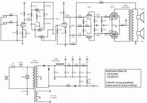 Kalamazoo Amp Field Guide  Bass Schematics