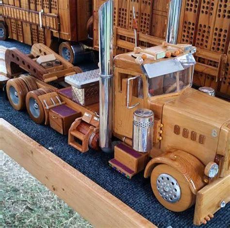 semi   wood love  wooden toy trucks