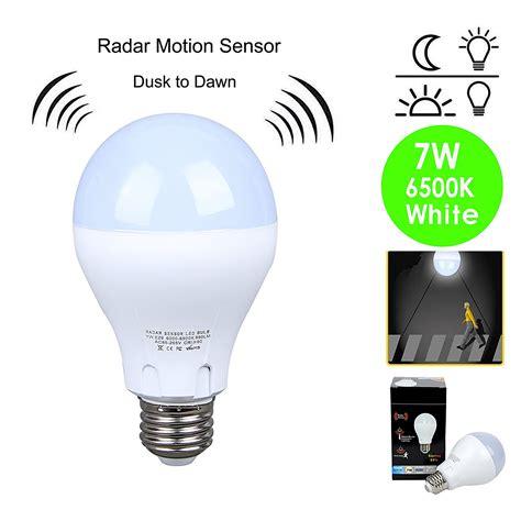 dusk to led light home lighting watt dusk to outdoor light bulbs led