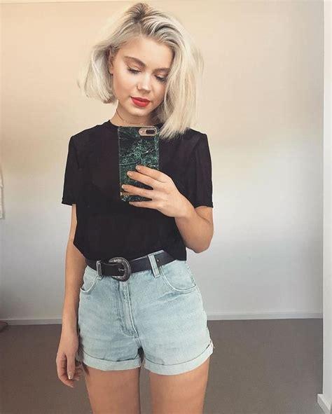 Best 25+ Short hair outfits ideas on Pinterest | Styles for short hair Hairstyles short hair ...