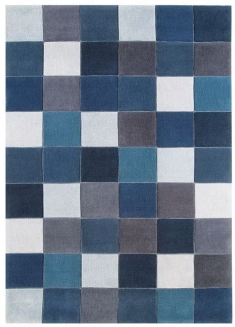 Eden 11 Pixel Blue Rug