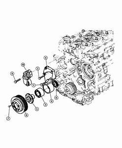 2013 Dodge Ram 1500 Bearing  Idler Pulley  Emissionsleaded