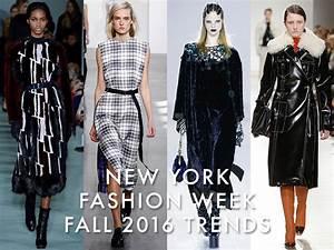 New York Fashion Week Fall 2016 Trends: Plaid, Velvet & More