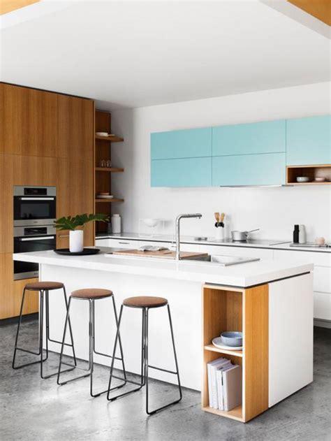 cuisine blanche avec ilot central cuisine blanche avec ilot central maison design bahbe com