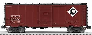 Freight Car Friday – Erie Cars | Lionel Trains