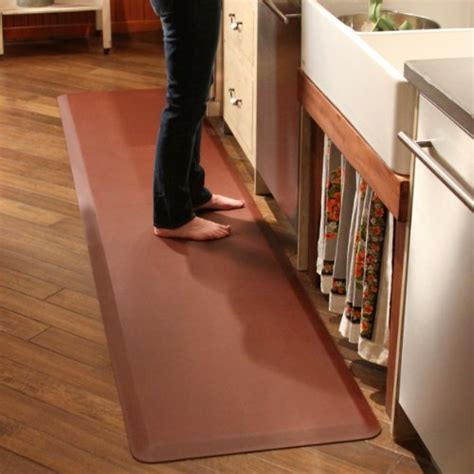 kitchen mats for hardwood floors wellnessmats anti fatigue 8 by 2 puzzle set 8354