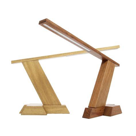 wooled solid wood diy led desk lamp wood desk lamp led