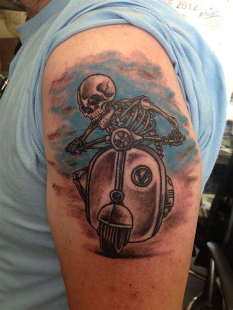 vespa scooter tattoos