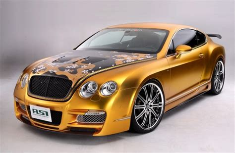 gold bentley gold plated bentley w66 gts car costs 800 000 car values