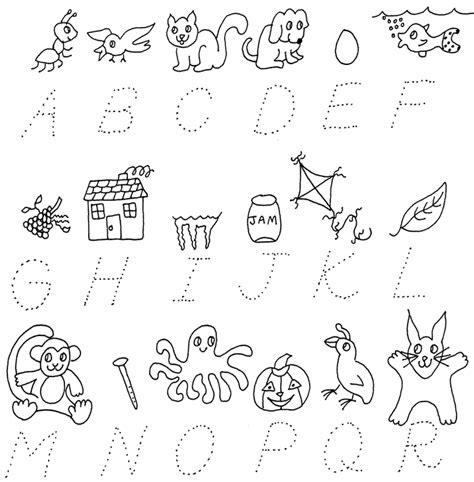 Alphabet Letter Tracing Templates by Tracing Letters Worksheets Templates Printable