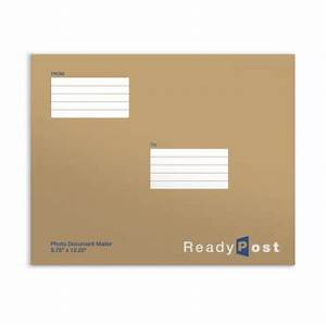 Readypost 9 3 4 x 12 1 4 inch photo document mailers for Usps document mailer