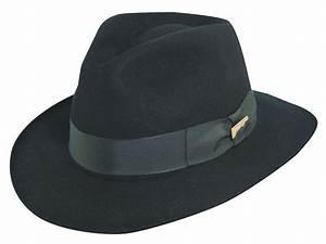 Indiana Jones Fur Felt Fedora Hat   Explorer Hats