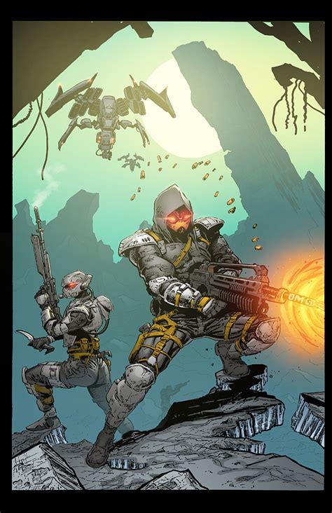 Commission Killzone 4 Concept Art By K Bol On Deviantart