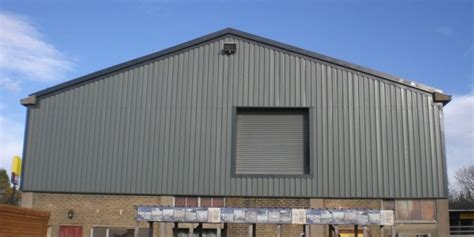 industrial roof cladding services uk
