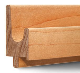Hardwood Finger Pull Molding & Drawer Pulls For All Cabinets