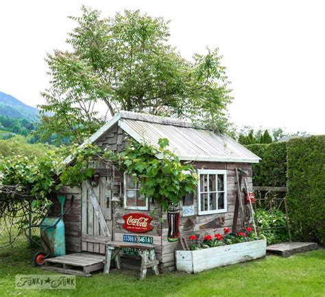 rustic garden sheds if rustic garden sheds could tell stories this one would say funky junk interiors