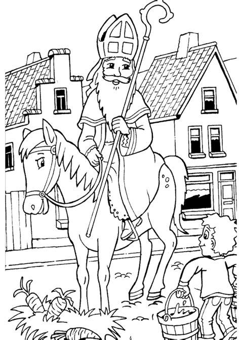 Kleurplaat Kasteel Sinterklaas by Sinterklaas Site Sinterklaas Kleurplaat Printen