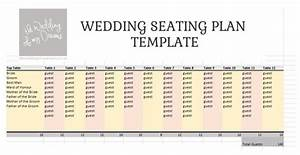 Wedding Seating Plan Template  U0026 Planner  U2013 Free Download