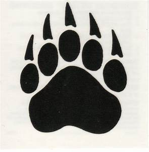 Grizzly Paw Print Tattoo Grizzly bear paw print tattoo ...