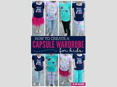 How to Create a Capsule Wardrobe for Kids