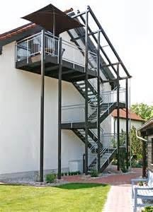 handlauf balkon außentreppen mit geländer nach maß kliegl treppenbau