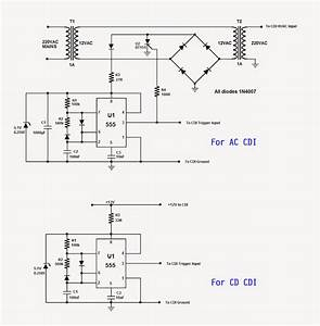 Schematic Motorcycle Cdi Wiring Diagram