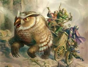 14 best Owlbear images on Pinterest | Fantasy creatures ...