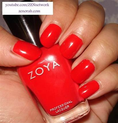 Zoya Maura Polish Nail Opi Orange