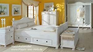 Schlafzimmermöbel Landhausstil Weiß : schlafzimmerm bel im landhausstil youtube ~ Sanjose-hotels-ca.com Haus und Dekorationen