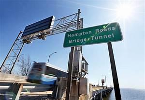 Hampton Roads Bridge-Tunnel undergoing inspection, delays ...