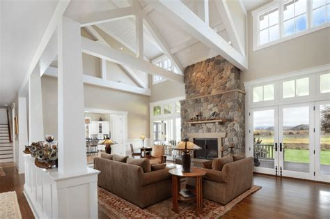 farmhouse style living rooms