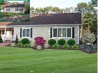 landscape ideas for front of house Front Yard Landscape Design, MADecorative Landscapes Inc.