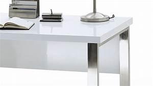 Tischplatte Hochglanz Weiß : schreibtisch sydney b rotisch in wei hochglanz lackiert 140x70 cm ~ Buech-reservation.com Haus und Dekorationen